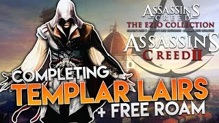 assassin s creed the ezio collection ac2   all templar lairs free roam