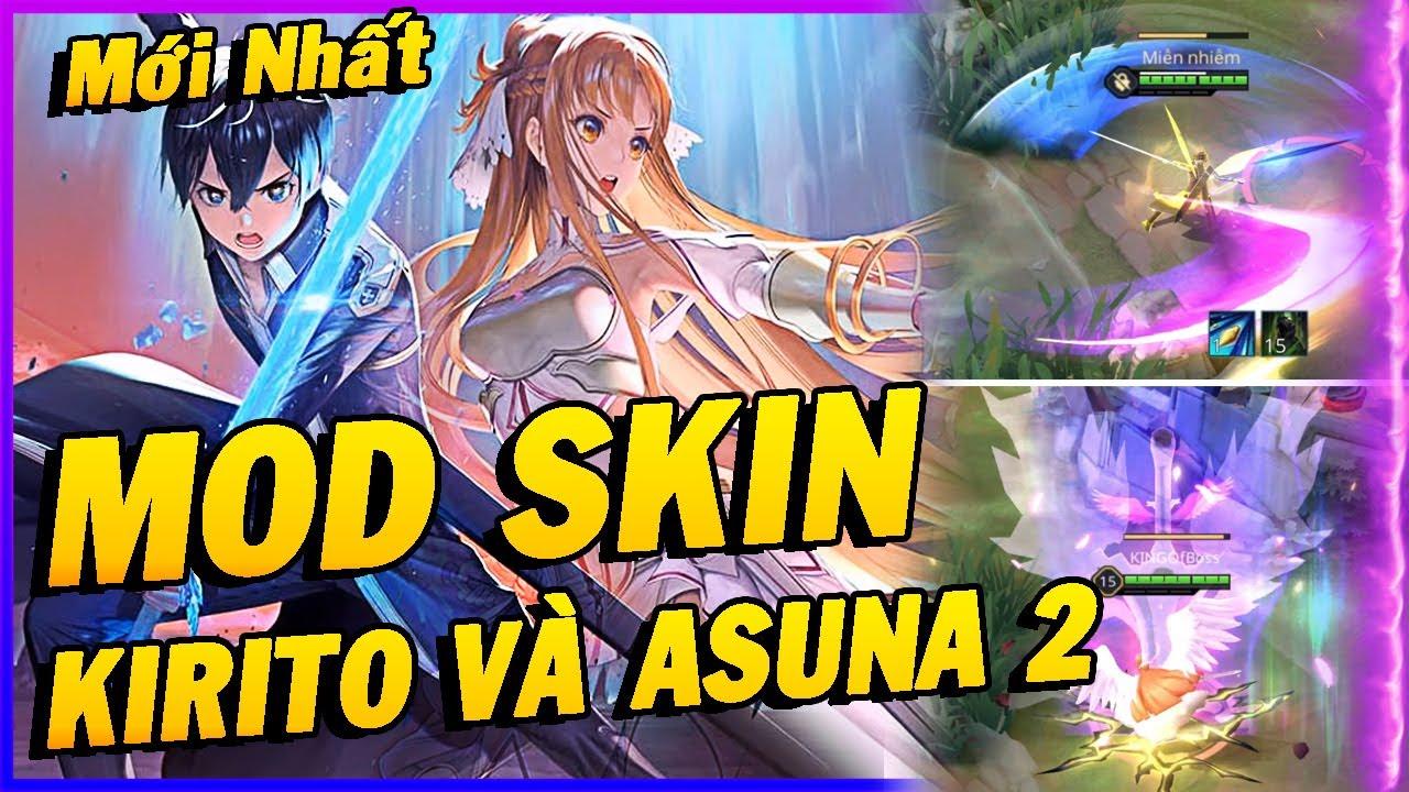 Hướng Dẫn Mod Skin KIRITO Và ASUNA Mùa 18 Full Hiệu Ứng Và Âm Thanh Liên Quân Mobile Phần 3