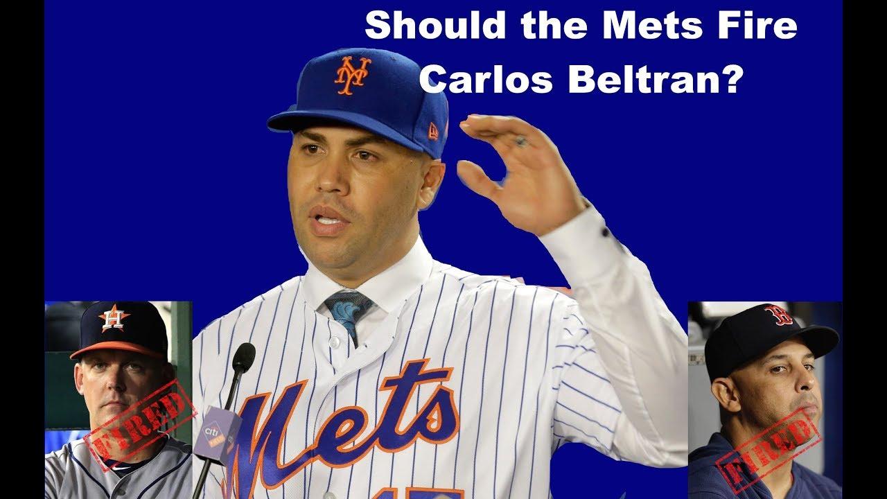 Should The Mets Fire Carlos Beltran