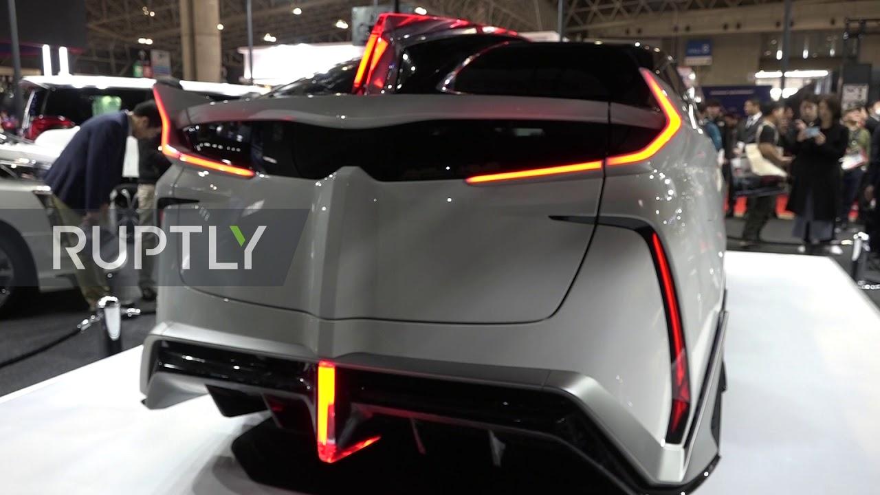 Toyota unveils futuristic Prius-based concept car at 5 Tokyo Auto Salon