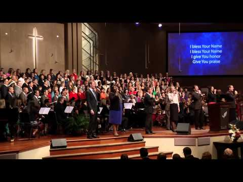 """""""I Bless Your Name"""" -- Lancaster Baptist Church Choir and Orchestra"""
