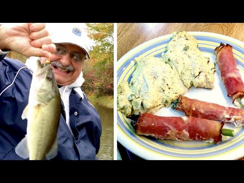 Fishing for Bass in Mustard Cream Sauce