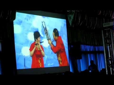 Chinese Couple performs on the SHENG, LABA, and other instrumnents