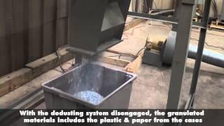 Granulating & Recycling Plastic CD/