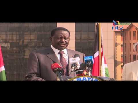 Threats on judiciary by Jubilee signs of desperation: Raila Odinga