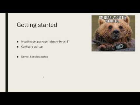 OAuth2, IdentityServer3 and integrating it into your current app | Paul Glavich at DDD Sydney 2016