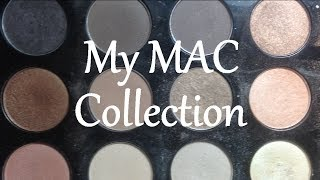 My MAC Eye Shadow Collection and Favorites Thumbnail