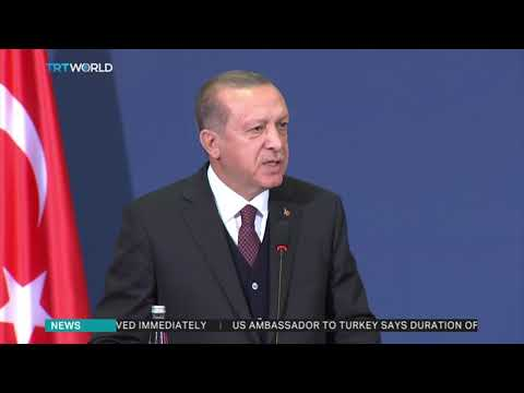 Erdogan says US allowing spies in consulate