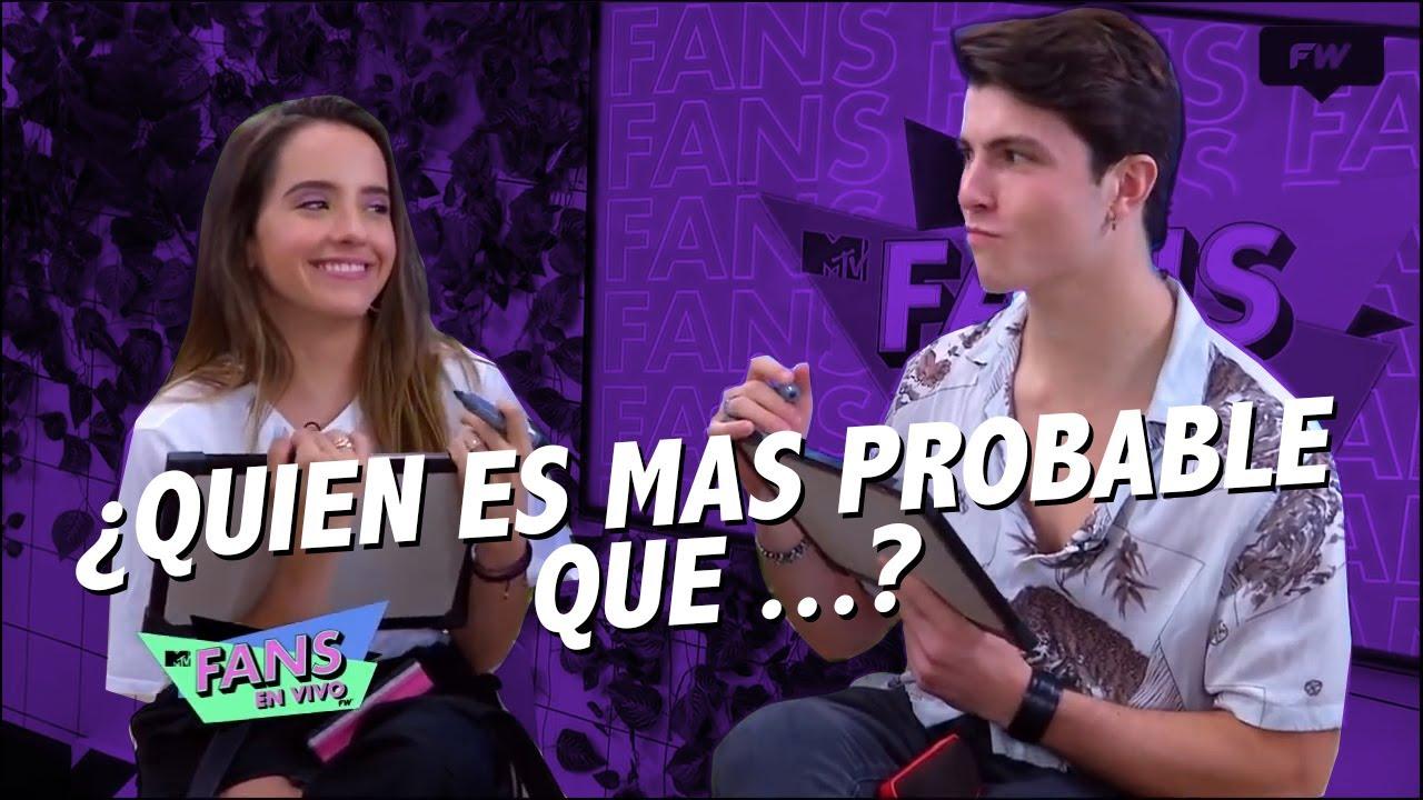 Evaluna vs Riccardo ¿Quién es más probable que ...? | MTV Fans En Vivo