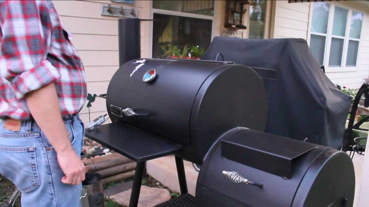 old country bbq pits review youtube
