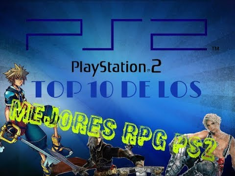 Top 10 Mejores RPG Para PS2 -play Station 2-