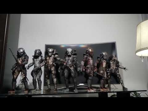 Neca 1/4 Predator figures collection