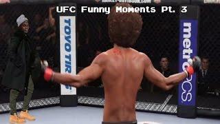 UFC Funny Moments Pt  3