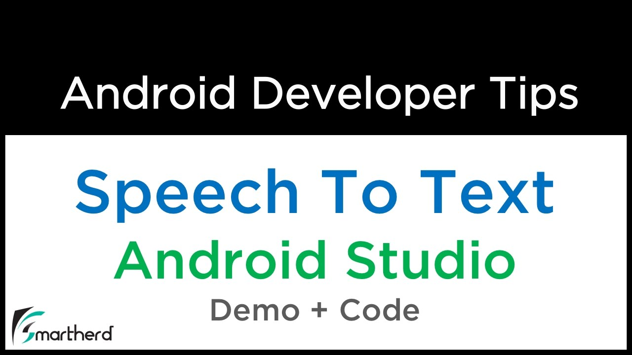 Android Tutorial: Convert Speech To Text | Speech Recognition