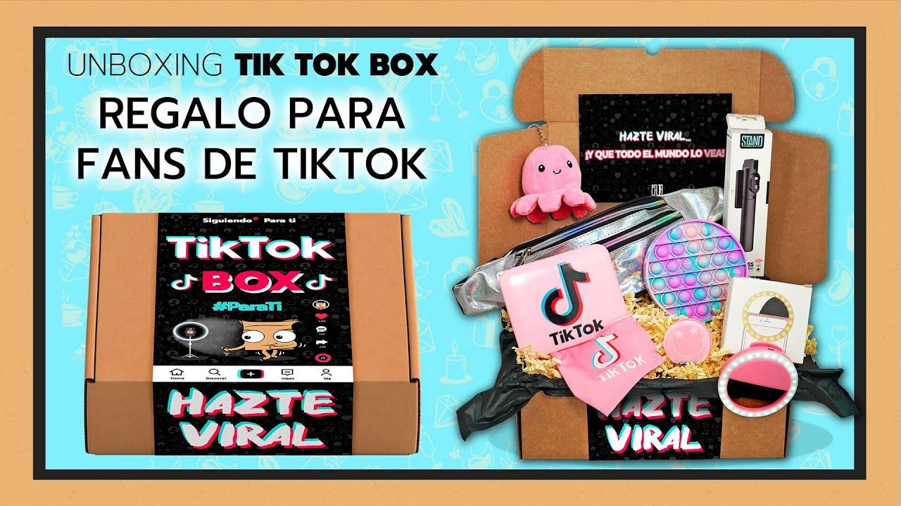 REGALO de TIK TOK ❤ ¡EnCAJAlo TIK TOK BOX! 📦 UNBOXING de CAJA TIK TOK pars hacerse VIRAL