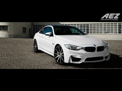"BMW M4 on AEZ Straight 20"" wheels – Portugal Cruise and Drift"