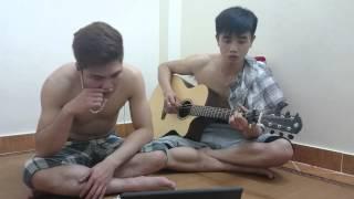 Biệt Khúc Chờ Nhau   Đan Trường aucostic guitar Vũ Hải Đăng