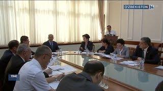 Заседание парламентской комиссии