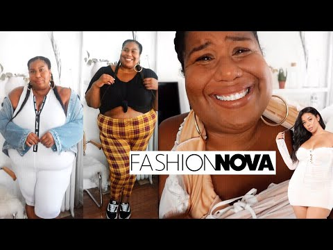 FASHION NOVA PLUS SIZE HAUL | MY FIRST (AND LAST) TIME!