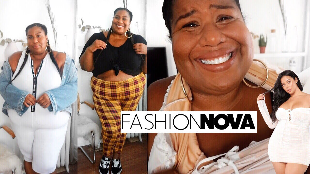 Fashion Nova Plus Size Haul My First And Last Time Youtube