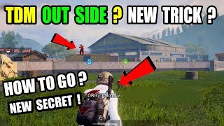 How To Go Outside TDM Warehouse ? Only 0.5% People know this Tricks In Pubg Mobile !