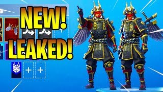 *NEW* LEAKED SHOGUN SKIN! (SHOWCASE) Fortnite Battle Royale