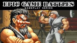 Epic Game Battles - MR. KARATE - Art of Fighting (1992)