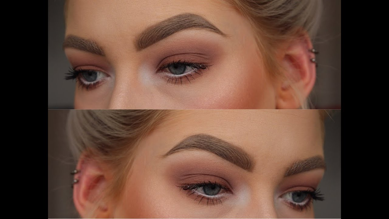 Eyebrow Tutorial Mirrormirror Youtube