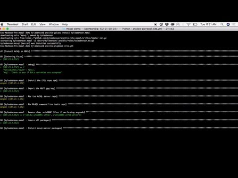How to Install SQL Server 2017 on RHEL with Ansible