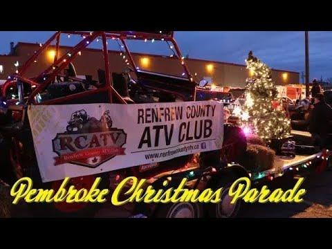 Pembroke Christmas Parade 2017 - Renfrew County ATV Club