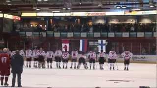 Глухие хоккеисты сборной России - чемпионы мира 2013