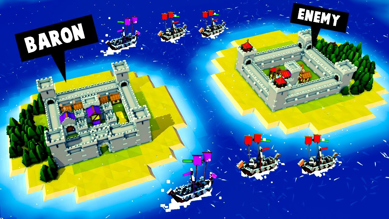RIVAL EMPIRES are Here In Kingdoms and Castles (Massive Update!)
