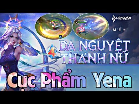 TOP 1 YENA | Cực Phẩm Skin Yena Dạ Nguyệt Thánh Nữ Hiệu Ứng Âm Thanh Số 1