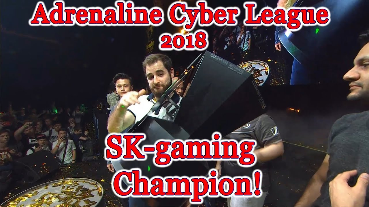 SK-gaming champion ???? Adrenaline Cyber League champions Grand Final vs Avangar #CyberWins