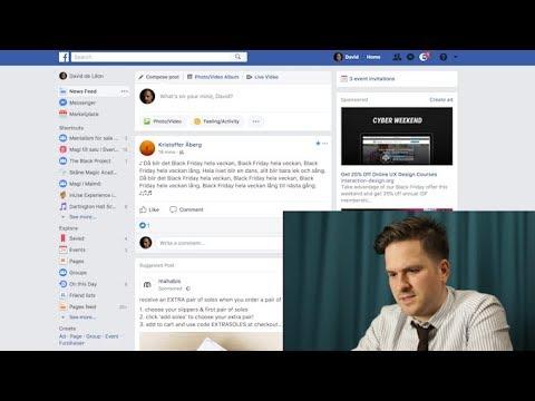Usability Test Facebook – inUse