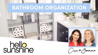How To Organize Your Bathroom with The Home Edit | Master the Mess EP 7