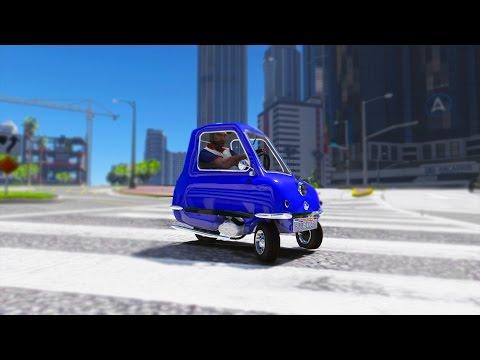GTA 5 Mods - WORLDS SMALLEST CAR! BEST GRAPHICS MOD GTA 6 MOD! (GTA 5 PC Mod)