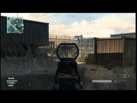 MW3: M4A1 W/ RDS (32-1) Team Deathmatch On Dome (Commentary/Gameplay)