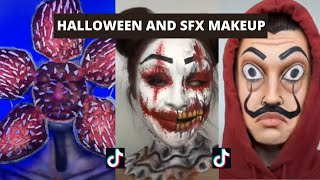 HALLOWEEN AND SFX MAKEUP TIKTOKS | tiktok compilation 2020
