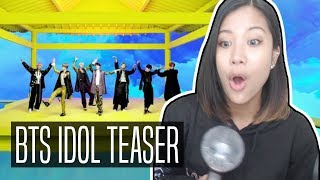 Download Video BTS IDOL TEASER REACTION | #IDOL MP3 3GP MP4