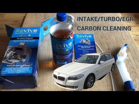 Engine Carbon Cleaning on the BMW 530d (Turbo Revive)