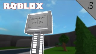 Building a Billboard! (Roblox Bloxburg)