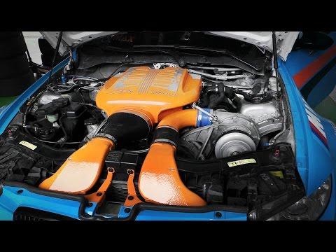 Centrifugal Supercharger Blow Off Valve Sound - G-Power BMW M3 E92