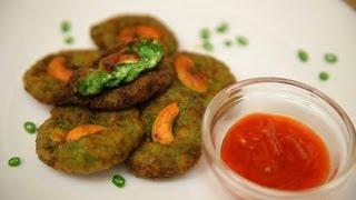 Harabhara Kabab (cottage Cheese, Potatoes, Spinach Patty) By Arina
