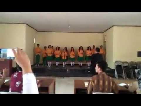 Subang motekar... paduan suara siswa siswi smp3patokbeusi