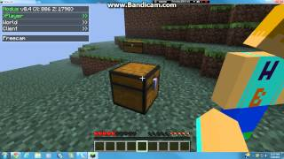 Repeat youtube video Minecraft 1.2.5 Multiplayer: How to get infinite Items with Nodus Hack Client (OUTDATED)