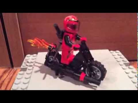 lego ghost rider motorcycle instructions