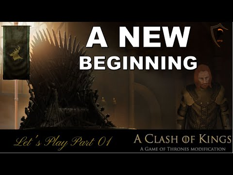 A Clash Of Kings- Let's Play Part 01: A New Beginning (Mount & Blade Warband)