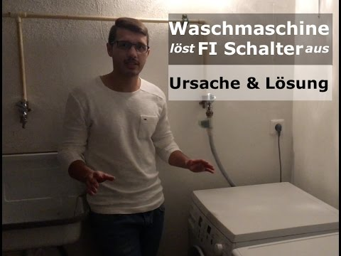 heizung defekt bosch waschmaschine l st fi schalter aus ursache l sung youtube. Black Bedroom Furniture Sets. Home Design Ideas