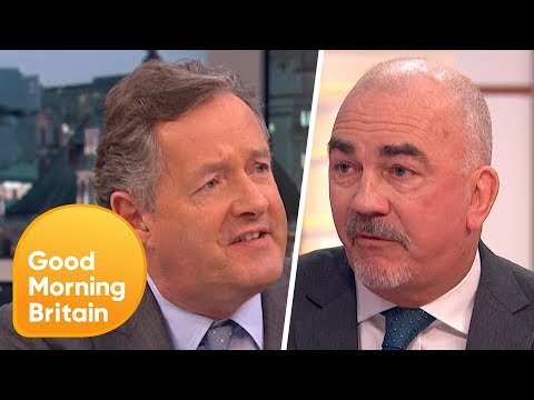 Piers Morgan Clashes With Headteacher Who Has Banned Snowball Fights | Good Morning Britain